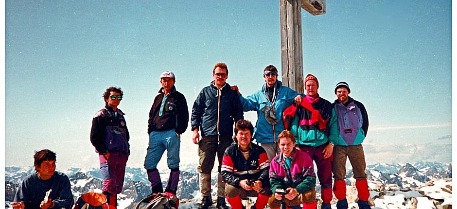 im Juni 1992 am Hochvogel
